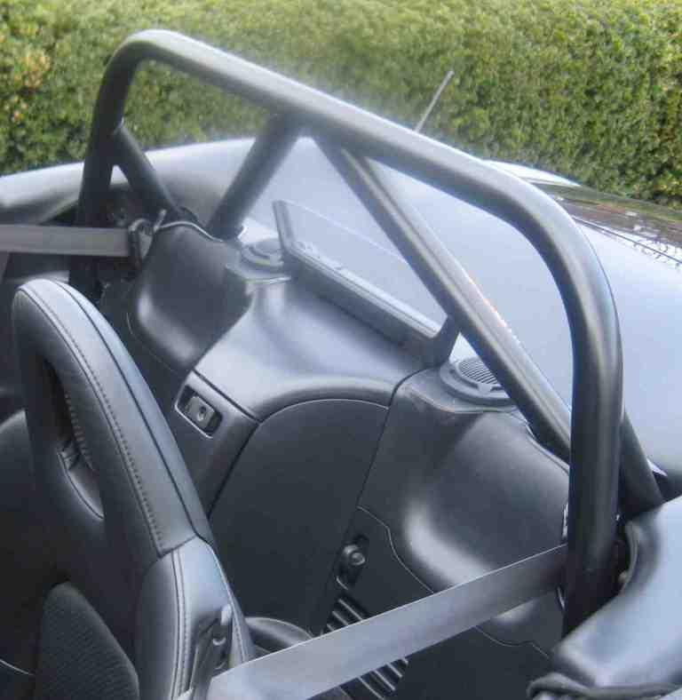 S2000 Bar w/ Double Diagonals, belt guide brackets & Lowered Harness Bar w/ center console